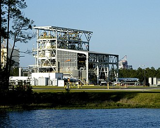 John C. Stennis Space Center - E test stand complex in 2005