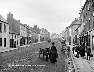 Mullingar - Earl Street, Mullingar, in the late 19th century