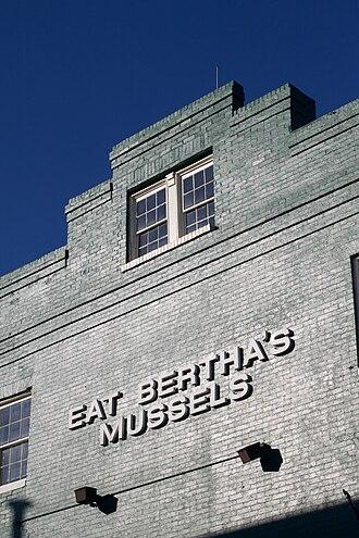 Fell's Point, Baltimore - Eat Bertha's Mussels tavern/restaurant in Fells Point
