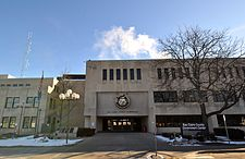 Eau Claire County Courthouse, February 2015