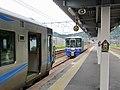 Echigo Tokimeki Railway & Ainokaze Toyama Railway at Tomari Station (Toyama).jpg