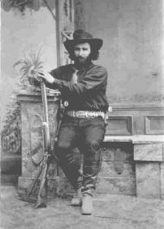 Tombstone, Arizona - Ed Schieffelin in Tombstone in 1880