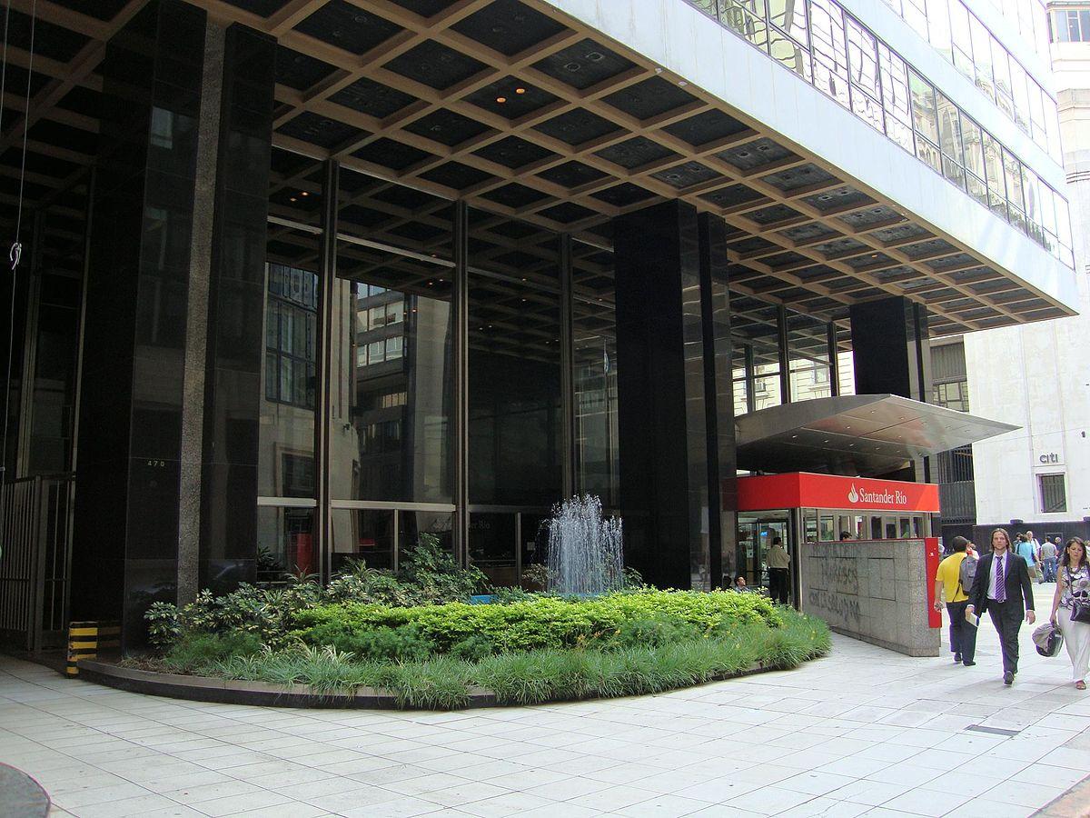 Edificio banco santander r o wikipedia la enciclopedia for Buscador de oficinas santander