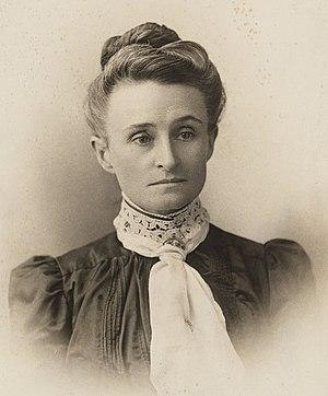 Edith Cowan - Cowan c. 1900