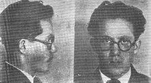twee zwart-wit mugshots