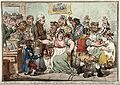 Edward Jenner vaccinating patients against smallpox Wellcome V0011069.jpg