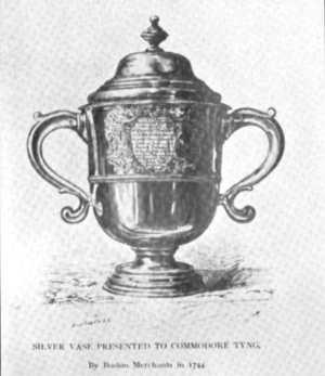 Edward Tyng - Image: Edward Tyng Silver, 1744
