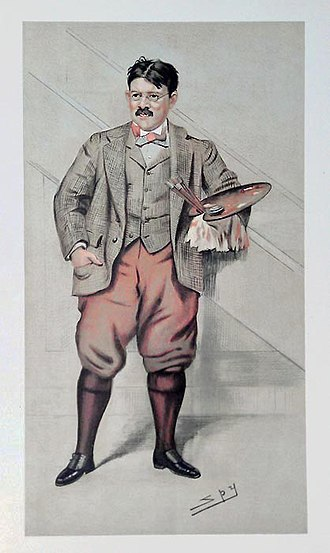Edwin Austin Abbey - Image: Edwin Austin Abbey Vanity Fair 29 December 1898