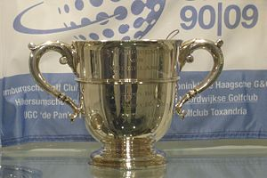 KLM Open - Original Trophy