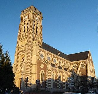 Haubourdin - Image: Eglise Haubourdin St Maclou