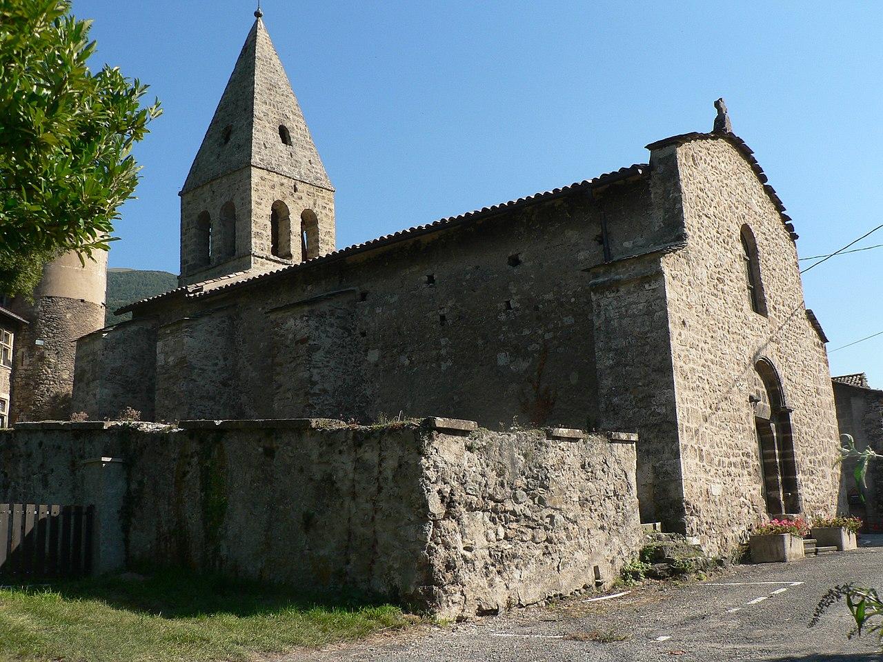 File eglise saint georges de saint georges de commiers for Maison saint georges de commiers