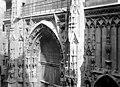Eglise Saint-Merri - Façade ouest, Partie supérieure du portail - Paris 04 - Médiathèque de l'architecture et du patrimoine - APMH00004563.jpg
