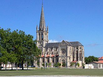 Lesparre-Médoc - Image: Eglise Saint Trelody, Lesparre