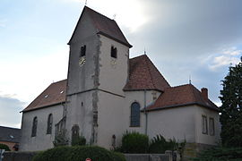 The church in Hambach