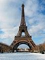 Eiffel Tower, Paris 19 December 2009.jpg