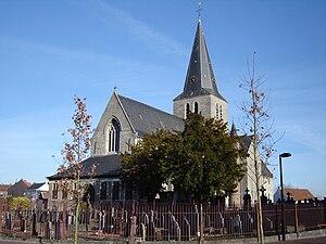 Eine, Belgium - Saint Eligius church, Eine (2009)
