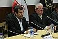 El Titular de la Función Legislativa, Fernando Cordero Cueva, recibió al presidente de la República Islámica de Irán, Mahmud Ahmadinejad (6689466875).jpg