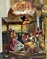 El greco, altarolo portatile, 1567-68, 02 adorazione dei pastori.jpg