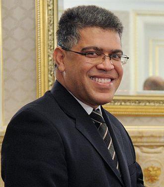 Elías Jaua - Image: Elias Jaua, December 2011