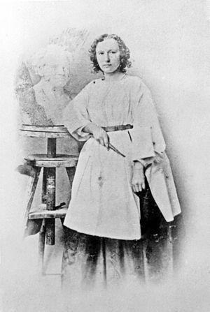 Elisabet Ney - Image: Elisabeth Ney,um 1859