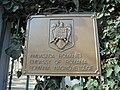 Embassy of Romania, Budapest - Plaque.jpg