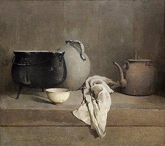 Emil Carlsen - Study in Grey, 1906, Dallas Museum of Art