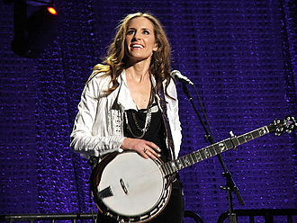 Emily Robison - Strayer in concert with the Dixie Chicks, Austin, Texas 2006