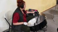 File:Emily Lemmerman Tuning Steel Pans at TCSBA.webm