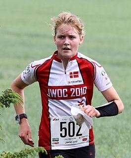Emma Klingenberg Danish orienteering competitor