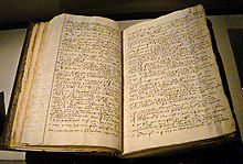 manuscript from Gabriel de Luetz d'Aramon in bound volume