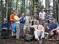 Enjoying the summit. Cattail Peak hike, June 2010 (4703831178).jpg