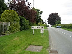 Entering Buttington - geograph.org.uk - 827747.jpg