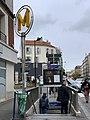 Entrée Station Métro Aubervilliers Pantin Quatre Chemins Aubervilliers 2.jpg