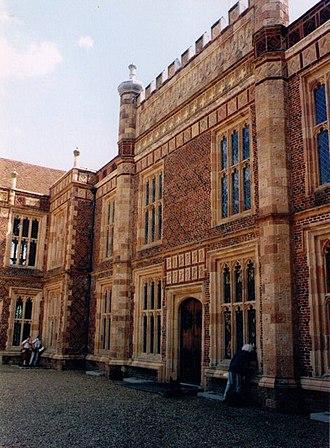 Sutton Place, Surrey - Main entrance of Sutton Place
