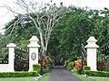 Entrance gates to Vailima - panoramio.jpg