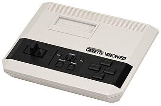 Cassette Vision - The Cassette Vision Jr., a cost reduced and minimized version of the Cassette Vision released in 1983.