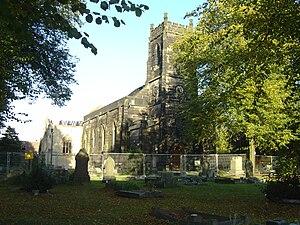 Erdington - The Parish Church, following the fire