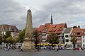 Erfurt, Domplatz, Obelisk-002.jpg