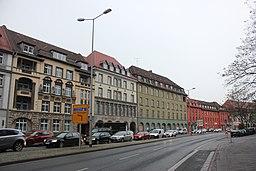 Juri-Gagarin-Ring in Erfurt