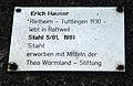 Erich Hauser Stahl 5 81, 1981, Theo-Wormland-Stiftung Tafel.jpg