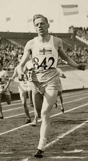 Erik Byléhn - Byléhn at the 1928 Olympics