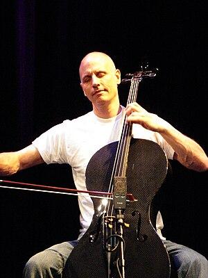 English: Erik Friedlander live at Saalfelden 2...