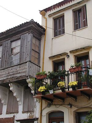 Ahmed Resmî Efendi - Turkish houses in Resmo (Rethymno) where Ahmed Resmî Efendi was born and had spent the first forty years of his life