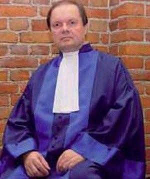 Judges of the International Criminal Court - Former Judge Erkki Kourula