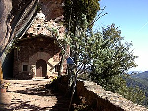 Prades, Baix Camp - Ermita de l'Abellera, Prades