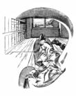 Комплекс живописных ощущений (для простоты видно одним глазом).  Иллюстрация из Эрнста Маха: «Анализ ощущений». 1900, стр. 15.