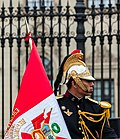 Escolta presidencial, Plaza de Armas, Lima, Perú, 2015-07-28, DD 40.JPG