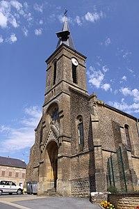 Escombres-et-le-Chesnois (08 Ardennes) - l' Église Notre-Dame à Escombres - Photo Francis Neuvens lesardennesvuesdusol.fotoloft.fr.JPG