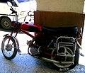 Escondida tras un machón del Bulevar El Prado encontramos un antigua moto de origen ruso - panoramio.jpg