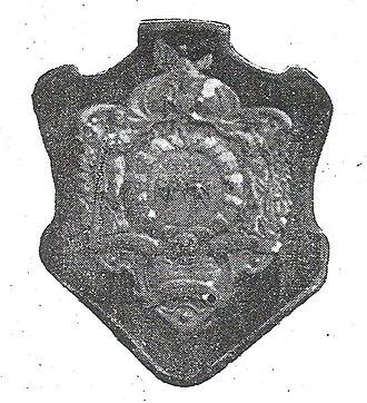 Peruvian Primera División - 1912 - 1921 Escudo Dewar trophy.